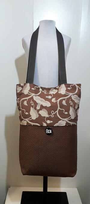 SHOPPER  BICOLOR BROWN