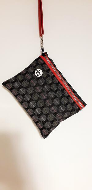 POCHETTE BLACK-GREY