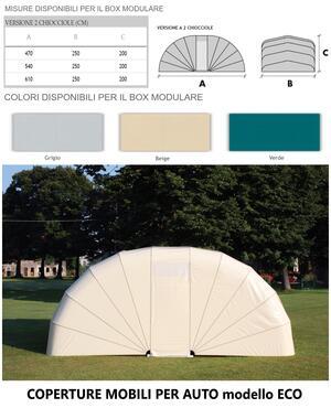 Box modulare ECO 2 CHIOCCIOLE 540x250x200