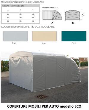 Box modulare ECO 1 CHIOCCIOLA 480x250x200