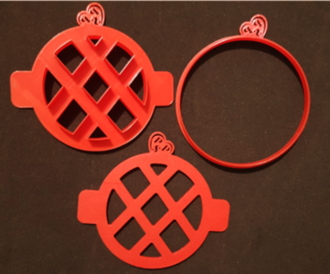 Stampi/cutters Crostatina