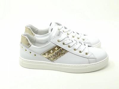 Sneaker Pelle Borchie/Lux - NeroGiardini