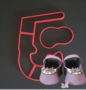 Stampi/cutters scarpina modello Ballerina
