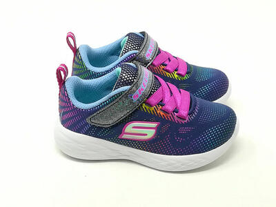 Go Run Kids Blu Multi - SKECHERS
