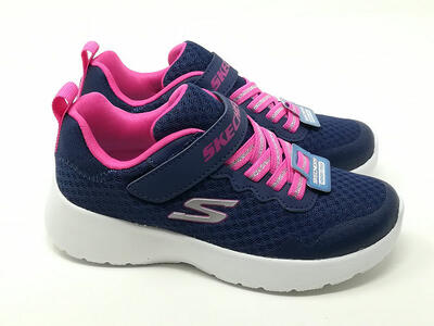Dynamight Runner Blu/Fuxia - SKECHERS