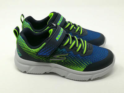 Go Run 650 Blu/Lime - SKECHERS