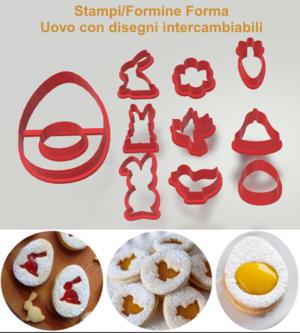 KIT Formine Biscotti Pasqua