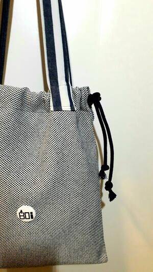 SHOPPER CANAPONE BLU