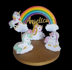 Cake topper unicorno  Centrotavola