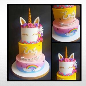 Torta scenografica Tema Unicorno
