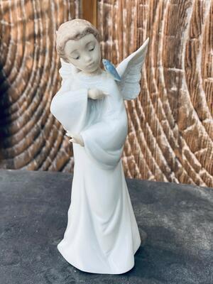 Nao - Statuetta in porcellana Angelo Protettore