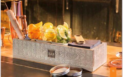 Mepra Scatola da bar in legno - Bar box wood