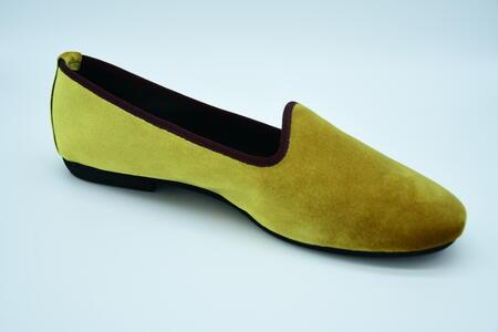 Friulana gialla in velluto tonda