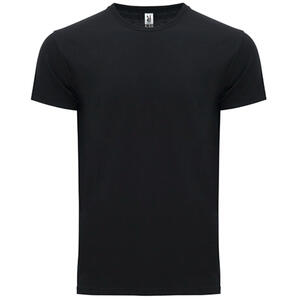 T-shirt nera colore 2 mezza manica ATOMIC